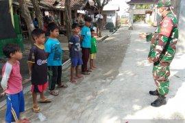 Babinsa Koramil Cikande berikan pembinaan wasbang generasi muda