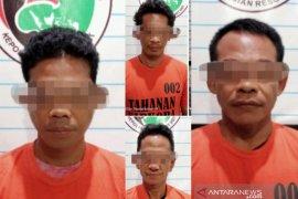 Inilah 5 tersangka kasus narkoba yang berhasil dibekuk Polres HST