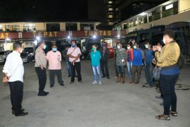 Polisi pulangkan empat mahasiswa terkait aksi mimbar bebas