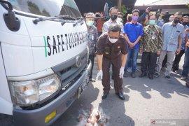 Peluncuran mobil PCR tes Safe Indonesia
