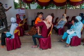 Pendistribusian bantuan sosial di Lebak berjalan lancar
