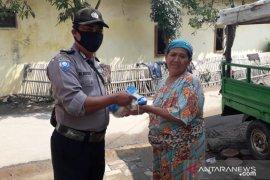 Sambut Hari Bhayangkara, Polsek Serang Kota salurkan bantuan sembako