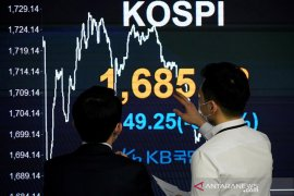 Saham Korsel melanjutkan kenaikan, indeks KOSPI terangkat 0,57 persen