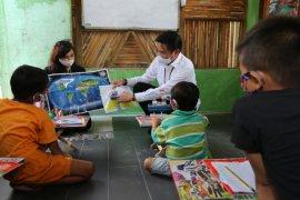 """Edukasi """"New Normal"""", Pelindo 1 hadir di pinggiran Sungai Deli"""