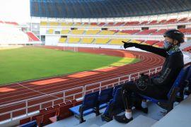 Gubernur Ganjar pastikan semua arena olahraga di Stadion Jatidiri selesai 2021