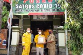Lima desa di Gresik terima bantuan sembako dan alat kesehatan dari Petronas Indonesia
