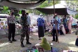 Tiga pilar Kecamatan Banua Lawas  pantau Pasar Arba