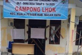 Aset desa diduga tak jelas, warga segel kantor desa di Nagan Raya