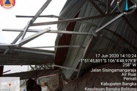 Sembilan rumah warga rusak akibat angin puting beliung