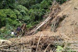 Longsor, akses jalan Aceh Timur - Gayo Lues lumpuh