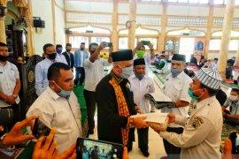 Setiap jiwa penduduk Aceh Tengah gratis dua masker dari pemerintah