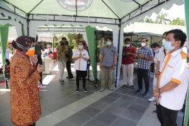 Dua mobil laboratorium PCR BNPB akhiri tugasnya di Surabaya
