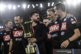 Napoli menangi gelar Piala Italia untuk keenam kali