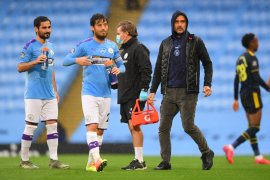 Guardiola: Manchester City undang David Silva untuk perpisahan besar