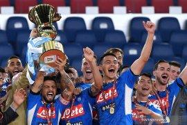 Napoli juara Piala Italia setelah menang adu penalti atas Juventus