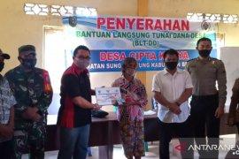 Penyaluran BLT dana desa di Bengkayang terus berjalan
