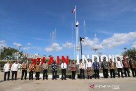 Menko Polhukam  Mahfud MD dan Mendagri pantau perbatasan Indonesia-Timor Leste