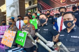 Polres Karawang tangkap 20 pengedar narkoba