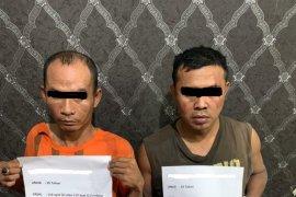 Duo pengedar narkoba diringkus, modus simpan barang bukti di kamar hotel