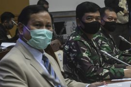 Prabowo apresiasi dukungan fraksi di DPR RI perkuat TNI