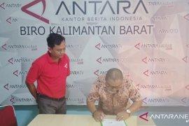 Diskominfo Kubu Raya harapkan peningkatan kerja sama dengan  LKBN ANTARA