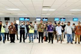 Sebanyak 24 WNI berhasil dipulangkan ke Indonesia dari Papua Nugini dengan Air Niugini