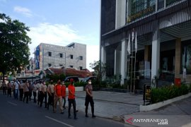 Cegah COVID-19, Kapolsek Banteng ajak personel olahraga pagi