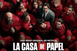 "Serial Netflix  ""Money Heist"" akan diadaptasi jadi drama Korea"