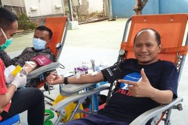 Bantu ketersedian darah, Karyawan PLN Aceh juga beramai-ramai donor darah