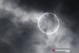 Gerhana matahari cincin terlihat di Kaltara pukul 16.25 Wita hari ini