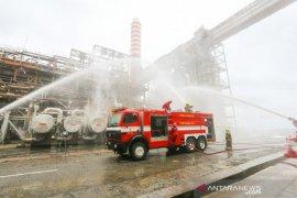 Kebakaran landa area Kilang Refinery Unit (RU) V Balikpapan