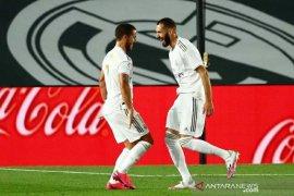 Real Madrid hajar Valencia 3-0, dwigol dari Benzema