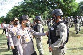 196 personel Brimob Polda Aceh ditugaskan ke Papua