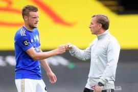 Rodgers kecewa Leicester gagal menang, tapi puas terhadap performa tim