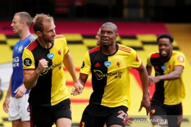 Watford dan Leicester berbagi poin setelah tutup laga secara dramatis