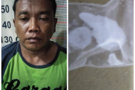 Polsek Tanjung Pura Langkat ringkus pengedar sabu