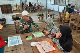 Satgas Pamtas 133/YS ajari mengaji generasi muda di wilayah perbatasan