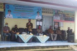 Bupati Bangka salurkan sembako tahap kedua di tiga desa