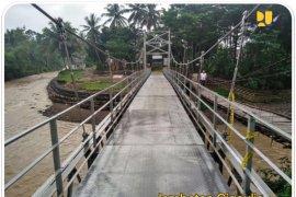 Kementerian PUPR akan bangun 38 jembatan gantung pada tahun ini