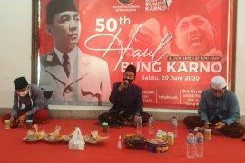 Digelar di Surabaya, doa lintas agama daring peringati haul Bung Karno