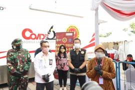 Mobil PCR BIN akhiri tugasnya di Surabaya