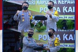 Video - Kapolda Kalsel serahkan dua unit kendaraan operasional untuk Satuan Brimob