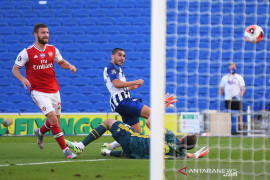 Arsenal dibungkam Brighton 1-2