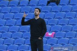 Arteta mengaku bertanggung jawab atas kekalahan lawan Brighton