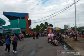 Kawasan GOR Pangsuma Pontianak kembali ramai dikunjungi masyarakat