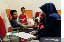 PMI Pangkalpinang kumpulkan 128 kantong darah