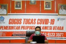 Sebanyak 45 warga Sulut terjangkit COVID-19 Minggu