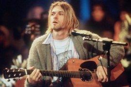 """Gitar Kurt Cobain saat tampil di """"MTV Unplugged"""" laku Rp85 miliar"""