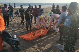 Pemuda terseret ombak di Pantai Perancak-Badung ditemukan tak bernyawa