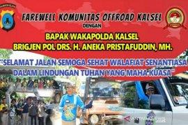 Komunitas offroad gelar salam perpisahan untuk Brigjen Aneka